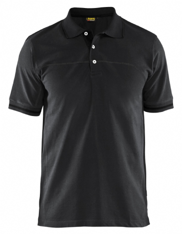 Blaklader 3389 Pique Polo Shirt (Black/Dark Grey)